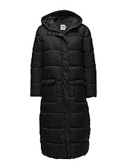 Saint Tropez - Long Padded Jacket With Hood