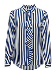 Saint Tropez - Two Tone Stripe P Shirt
