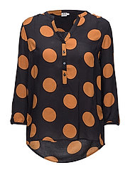 Saint Tropez - Big Dot Print Blouse