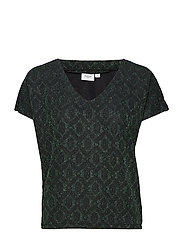 TOP W SHIMMER - FOREST