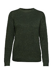 SHIMMER SWEATER - FOREST