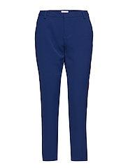 PANTS W PANEL - ANT.BLUE