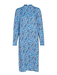 SWEET CANDY P DRESS - PL.BLUE