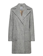 DOUBLE BREASTED CLASSIC COAT - C. GREY M