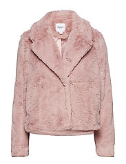 SHORT FAUX FUR - P.ROSE