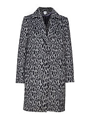 ANIMAL COAT - BLACK