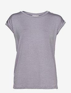 U1520, JERSEY TEE S/S - t-shirts - dapple gray