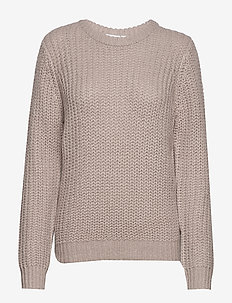 U2070, KNIT PULLOVER - CEMENT