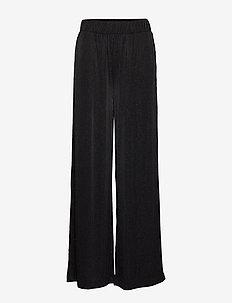 U5060, JERSEY PANTS - BLACK