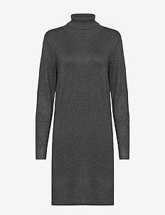 U6801, MilaSZ Rollneck Dress - G. IRON M.