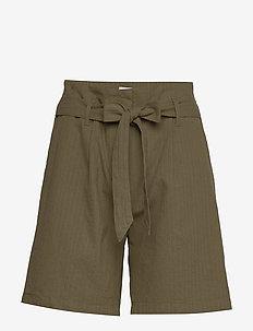 LivaSZ Shorts - paper bag shorts - army green