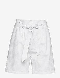 LivaSZ Shorts - paper bag shorts - bright white