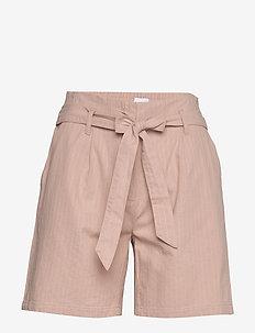 LivaSZ Shorts - paper bag shorts - silver pink