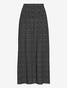 OlgaSZ Skirt Maxi - maxikjolar - black odd dot