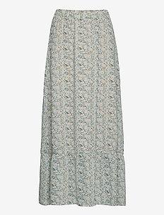 AuroraSZ Maxi Skirt - spódnice długie - smoke ditsy floral