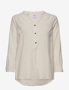 KateSZ Blouse - blouses lange mouwen - ice