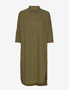 LivaSZ Dress - skjortekjoler - army green