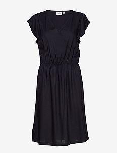 TishaSZ Dress - omslagskjoler - blue deep