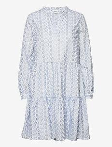 WendySZ Dress - hverdagskjoler - blue fog