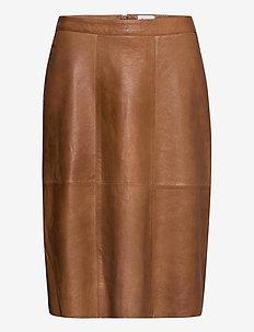 BrittSZ Skirt below knee - midi - otter