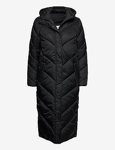 CatjaSZ Long Jacket - dynefrakke - black