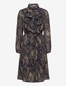 LillySZ Dress - skjortklänningar - total eclipse rain