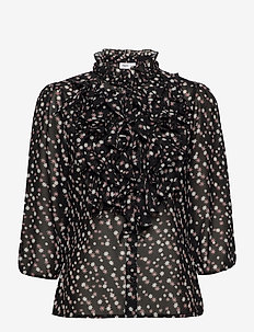 LillySZ 3,4 Shirt - langermede bluser - black star