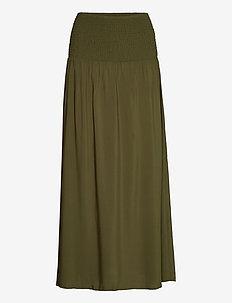T8023, BellisSZ Skirt - maxi skirts - army green
