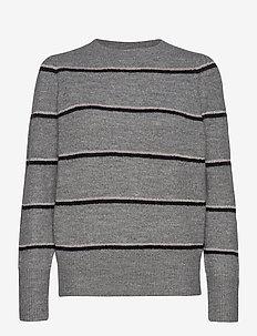CocoSZ LS Pullover - gensere - cool grey melange