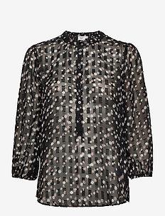 CarolynSZ LS Shirt - langermede bluser - black star