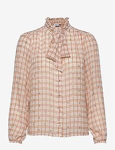 CatalinaSZ LS Shirt - langermede skjorter - leather brown