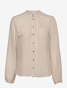 CorrieSZ LS Shirt - langermede skjorter - ice
