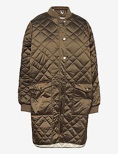 ElinorSZ Outerwear - padded coats - dark earth