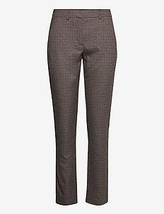 CicelySZ Pants - straight leg hosen - chocolate brown