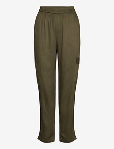 BaileSZ Pants - casual trousers - army green