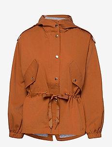 EstherSZ Jacket - light jackets - ginger bread