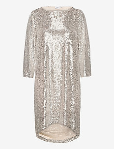 DianaSZ 3/4 Dress - midiklänningar - asti