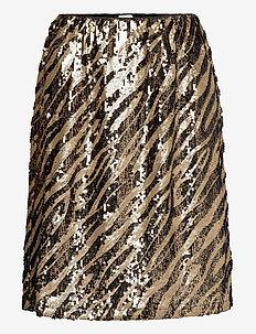 DeborSZ Skirt - spódnice mini - gold