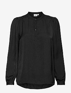 EsraSZ Shirt - langærmede bluser - black