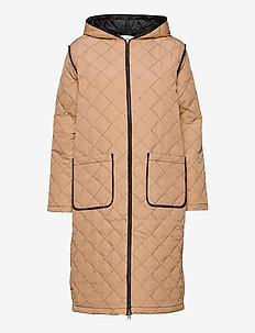 ErnestaSZ Jacket - padded coats - warm sand