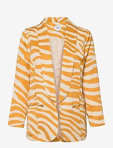 FabianaSZ Blazer - casual blazere - fall leaf zebra