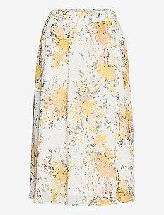 FlorenceSZ Skirt - midi skirts - ice flower firework