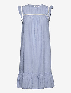 AfiaSZ Dress - sommerkjoler - cerulean