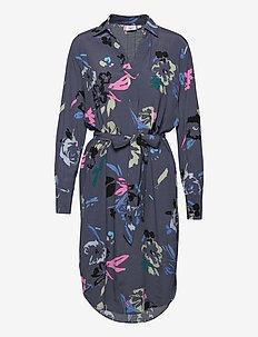 FredaSZ Dress - sommarklänningar - ombre blue botanical art