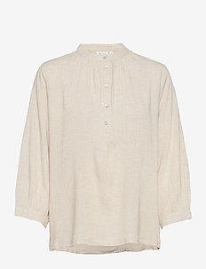 FannaSZ Shirt - overhemden met lange mouwen - creme