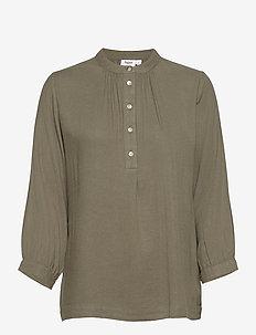 FannaSZ Shirt - langærmede skjorter - musk