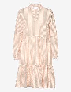 FrinkaSZ Dress - everyday dresses - leather brown