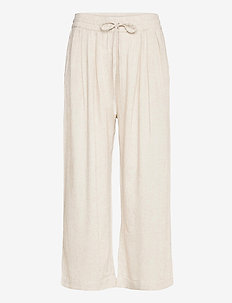 FannaSZ Pants - casual trousers - creme