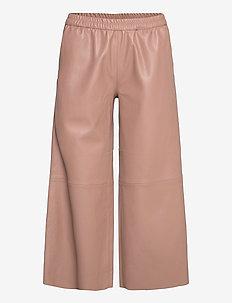 AlisiaSZ Pants - skinnbukser - brownie