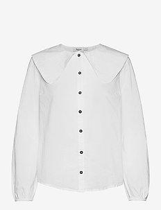 AdisaSZ Shirt - langermede bluser - bright white